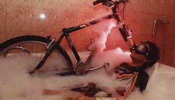 Мойка велосипеда в домашних условиях