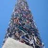 Монумент из велосипедов