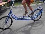 В это сложно поверить, но эллиптический велосипед существует