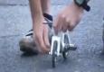 Один из самых маленьких велосипедов