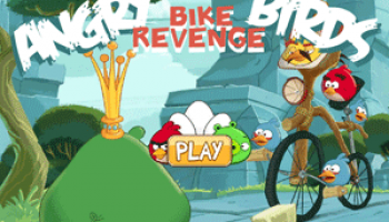 Angry birds bike revenge