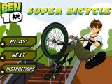 Ben 10 bicycle motocross