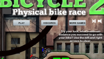 Bicycle 2 physical bike race