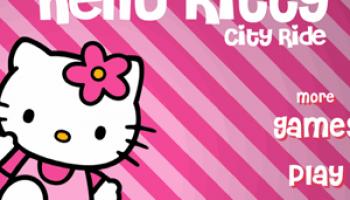 Hello kitty city ride