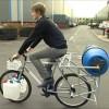 Необычный велосипед – стиральная машина