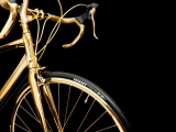 Подарочный велосипед из золота от компании Goldgenie