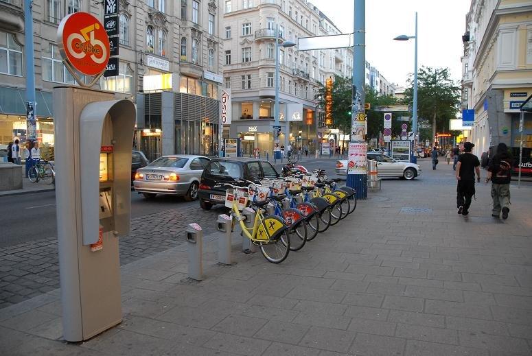 Бесплатный прокат велосипедов в Австрии