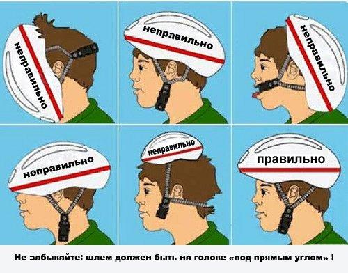 Шлем под прямым углом