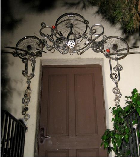 Велосипедная дверь