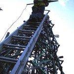 6 метровая конструкция из велосипедов в Оксфорде