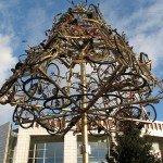 5 метровые ёлки в Амстердаме