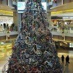 12 метровая елка из 230 велосипедов