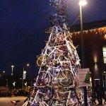 Рождественская ёлка в городе Тчев