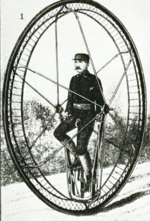 «Как белка в колесе». Интроцикл – чудо-машина