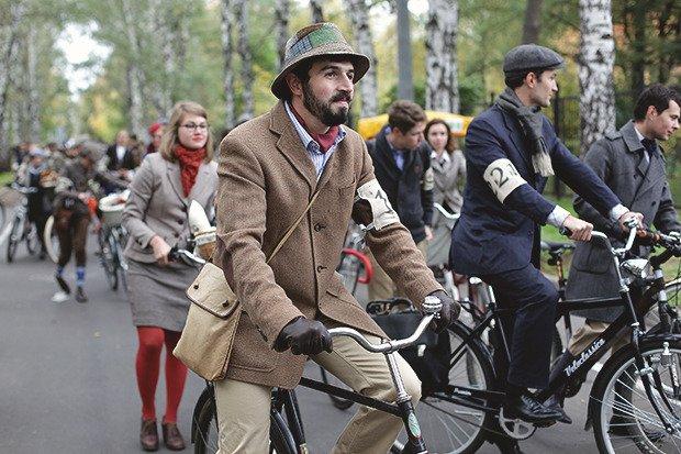 Tweed Run - велопробеги в ретро-стиле