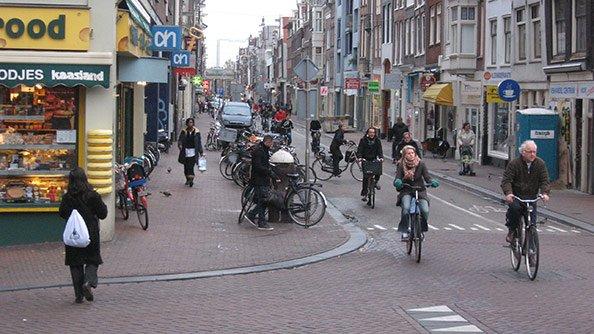 Нидерланды и велосипеды: причины и следствия