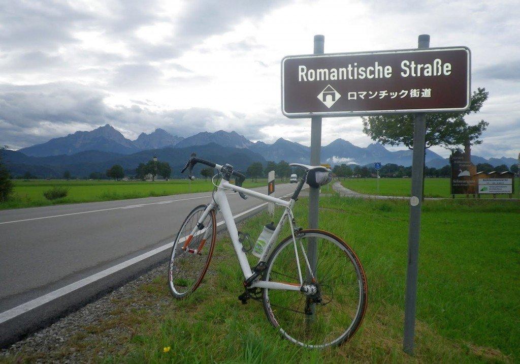 Романтическая дорога в Германии: 450 км на велосипеде
