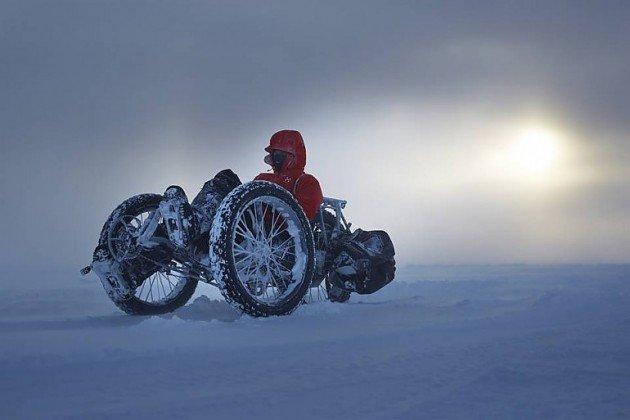 На велосипеде к Южному полюсу: новый мировой рекорд