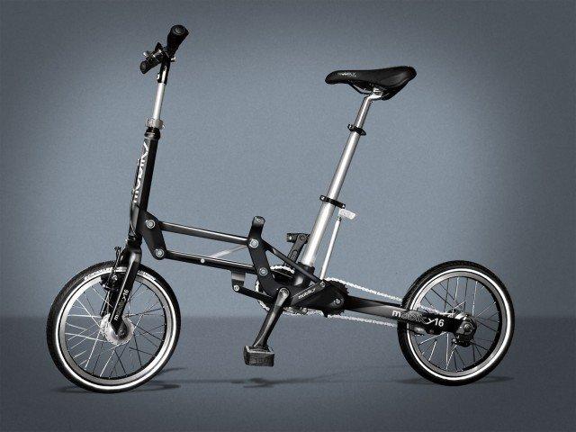 Mobiky – лучший складной велосипед для мегаполиса