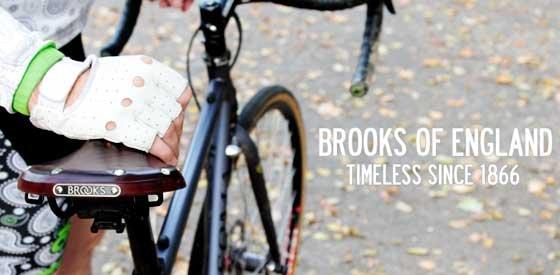 Седла Brooks с вековыми традициями