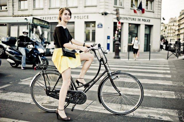 Как должен выглядеть женский велосипед