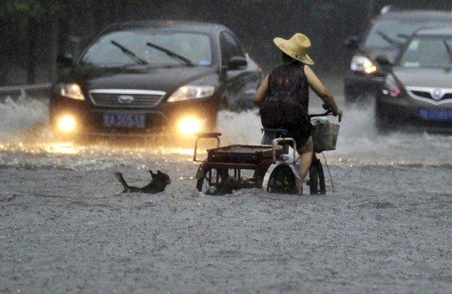 Негласные правила езды на велосипеде в дождь