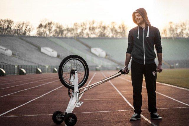 Halfbike – трицикл, полувелосипед, сигвей, маунтейнборд в одном целом