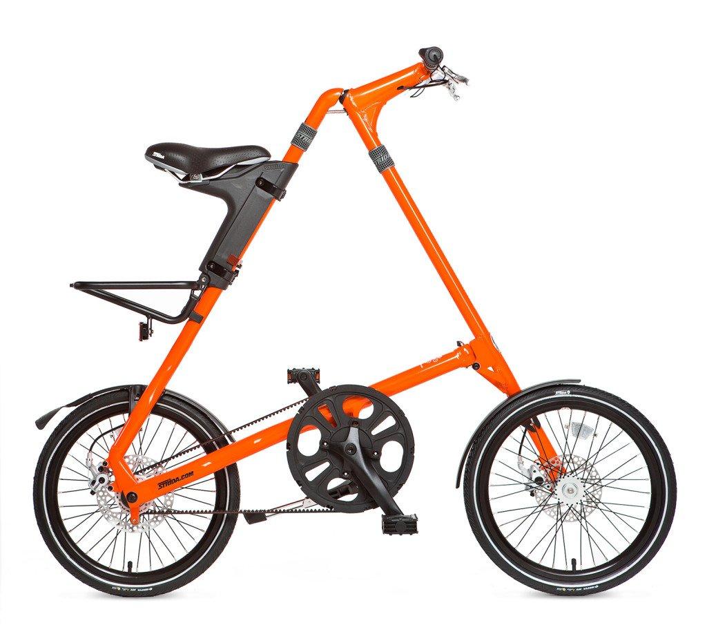Strida: велосипед в мегаполисе