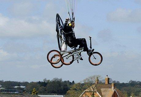 Летающий велосипед Paravelo Xplore Air