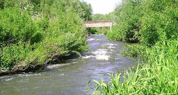 сплав по реке на байдарке